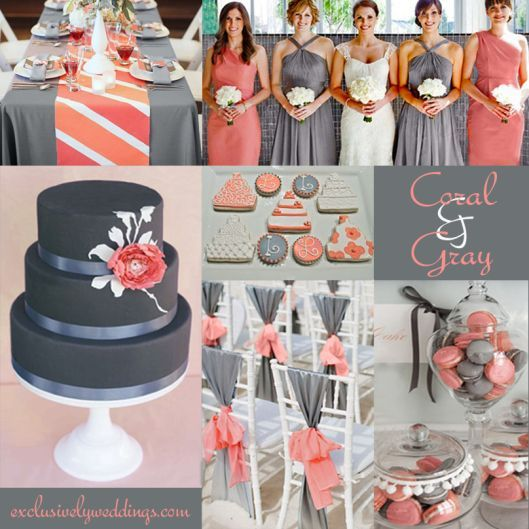 Grey Wedding Ideas: How To Combine Colors For Your Quince Theme