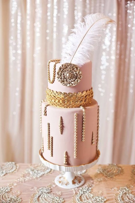 Art Deco Wedding Cake Ideas